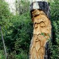 Chainsaw Art in Kendrick Park by David Peterson